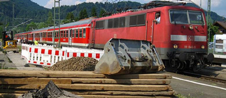 Deutsche Bahn: 200 Baustellen an Ostern 2013 bearbeitet