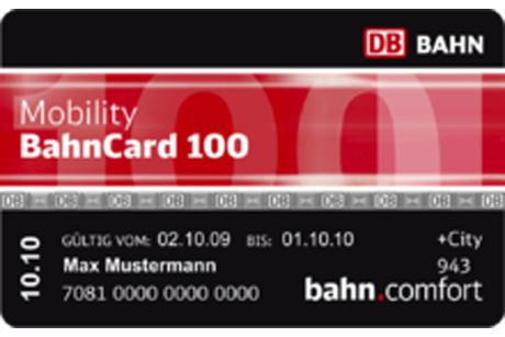 Bahncard 100 günstiger